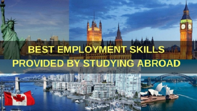 Studying Abroad Will Provide Excellent Employment Skills