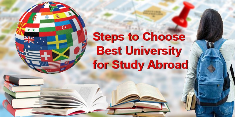 Steps to Choose Best University for Study Abroad