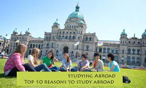 The Top 10 Reasons To Study Abroad